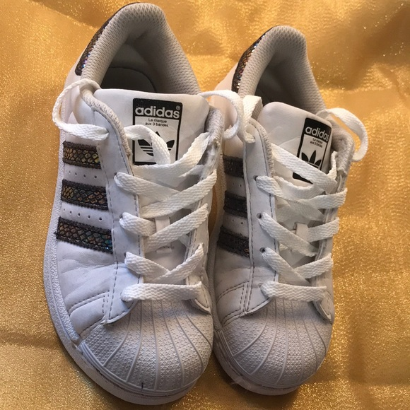 ADIDAS  preowned holographic shell toes c622c447575a